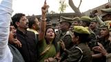 The Indian rape victim set on fire has died