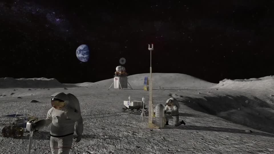 NASA picks Nokia to build moon mobile network