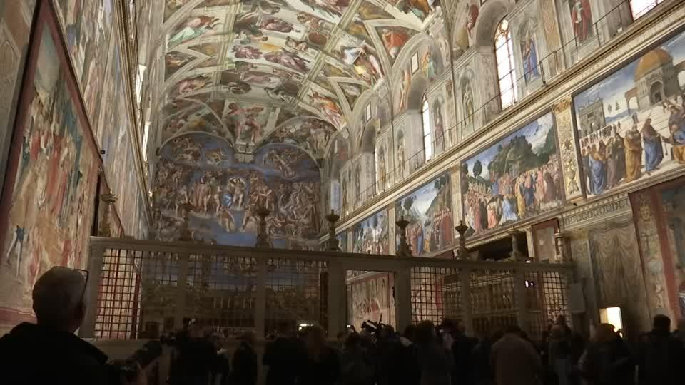 All Raphael's tapestries return to Sistine Chapel