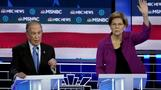 Warren takes aim at Bloomberg during Dems debate