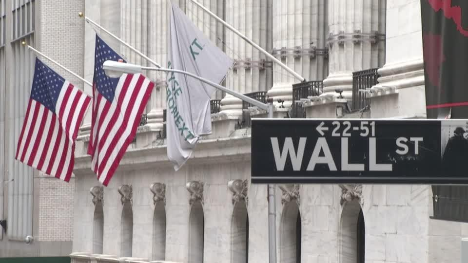Wall St. dragged by coronavirus fears, business data