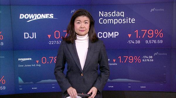 NY株続落、低調な経済指標や新型コロナウイルスの感染加速で(21日)