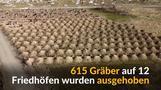 615 Gräber für mögliche Covid-19-Tote
