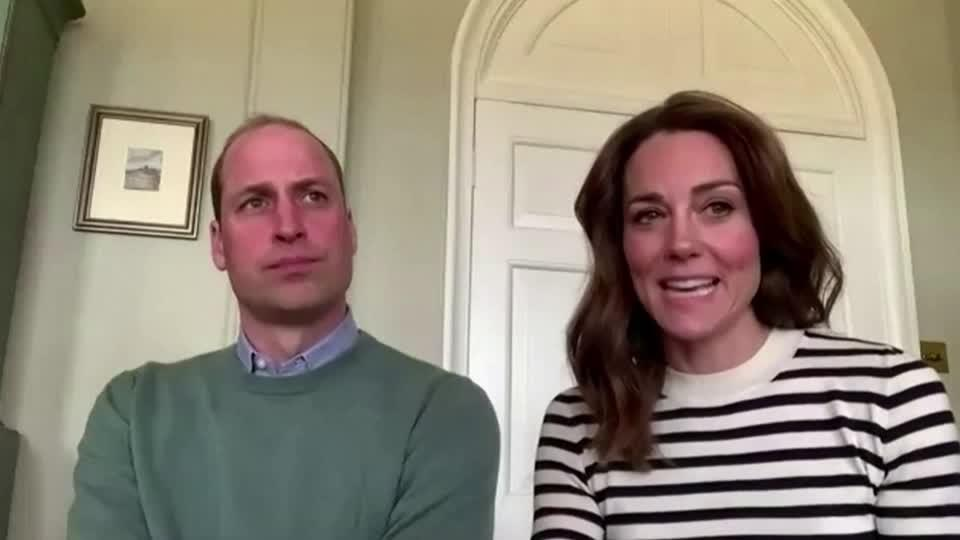 UK's Prince William and Kate say: look after mental health in coronavirus crisis