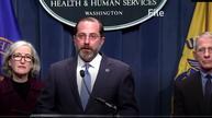 美国卫生部长称经济重启区域未出现新冠病例激增