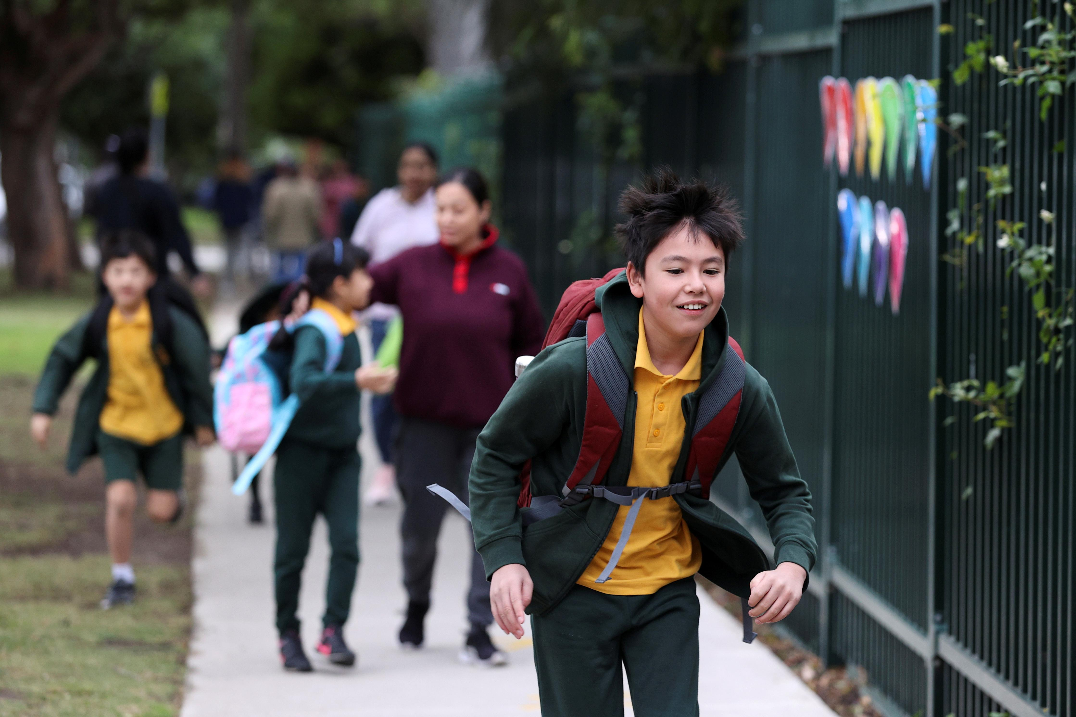 Back to school in Australia's most populous state