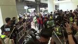 香港は自治失ったと米国務長官、当局がデモ隊360人を逮捕(字幕・28日)