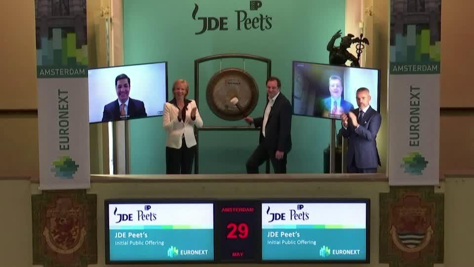 IPO values coffee maker JDE Peet's at $17.3bln