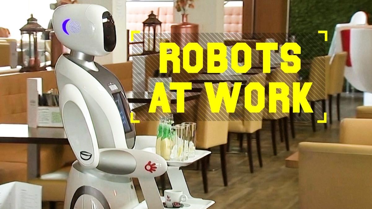 Robots At Work: Enjoy your meal