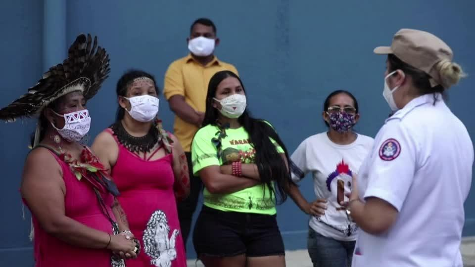 Deaths jump in Brazil's indigenous tribes as virus spreads