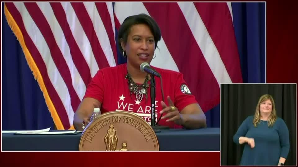 DC mayor hits back after Trump calls her 'incompetent'