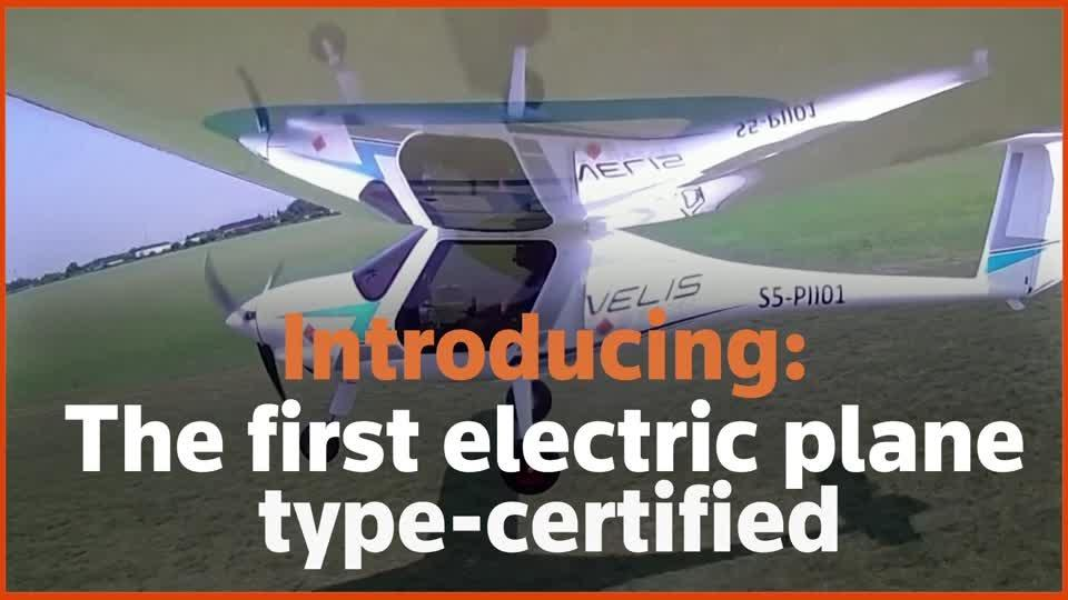 First EU-certified electric plane takes to the skies