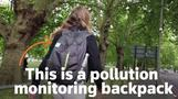 'Pollution backpack' data shows levels rising again
