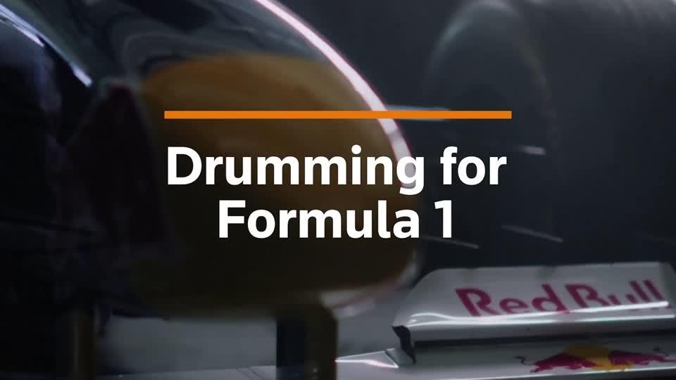 Drummers perform as F1 gears up for season-opener