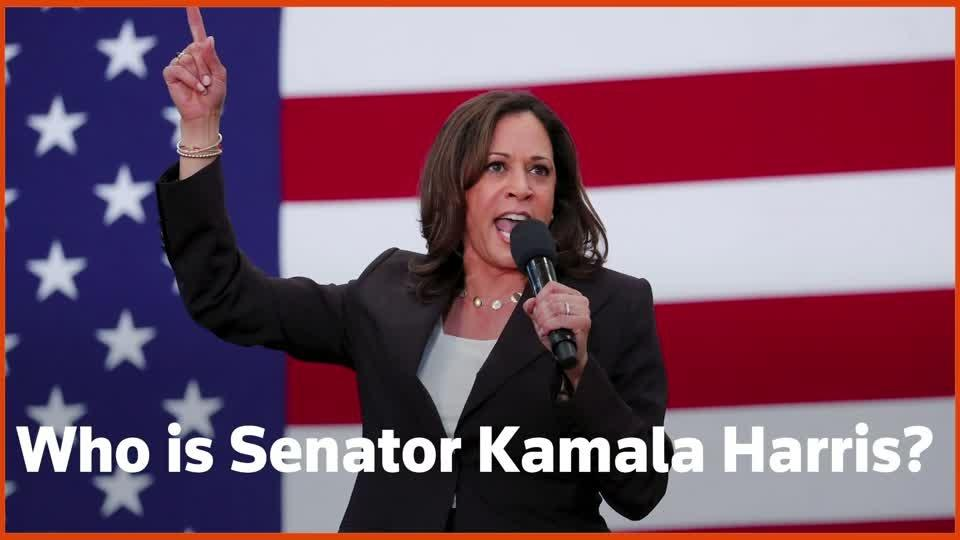 Who is Kamala Harris, Joe Biden's running mate?