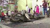 イスラム教中傷する投稿巡り、インドで大規模抗議 3人が死亡(字幕・12日)