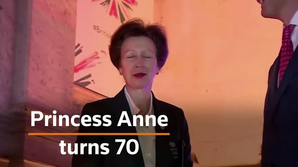 The Olympic Royal, Princess Anne, turns 70