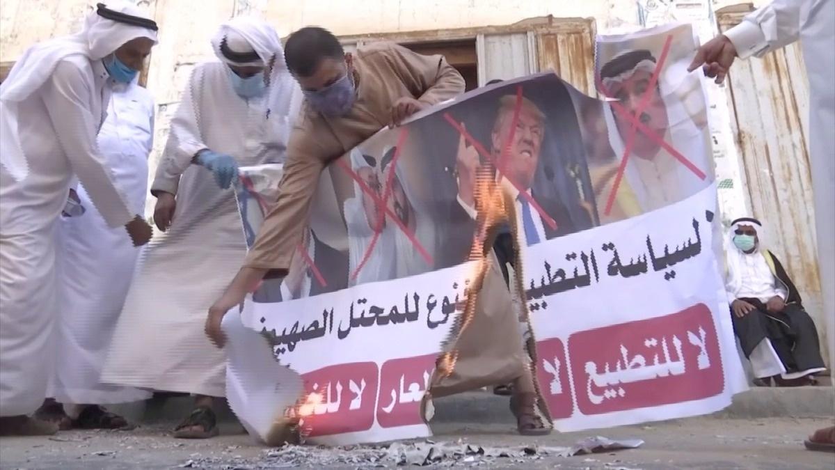 Palestinians reject Israel-Bahrain deal