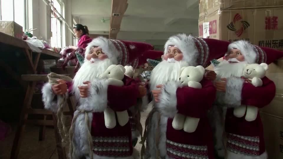 China's Christmas city loses its seasonal cheer