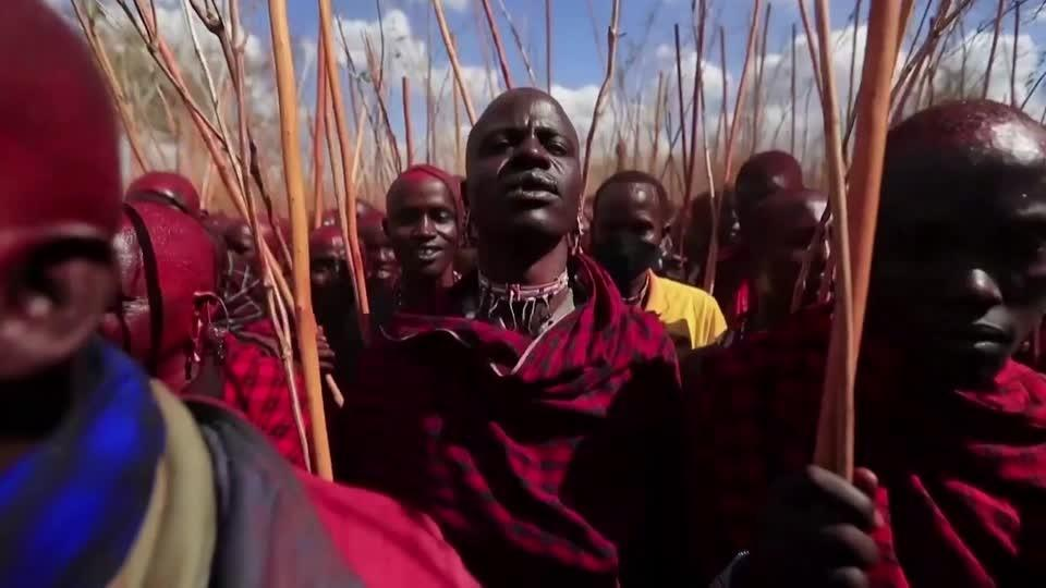 Thousands attend once-in-a-decade Maasai ceremony