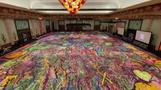 Artist aims to raise millions with giant canvas