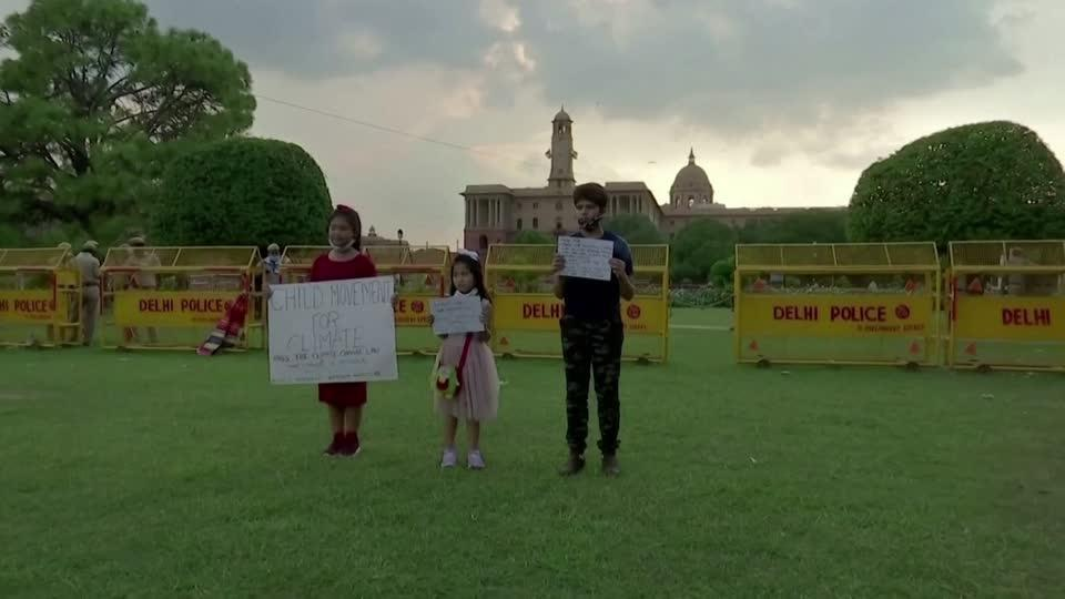 Meet India's eight-year-old climate activist