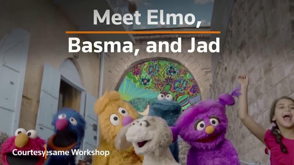 Meet the muppets of Arabic Sesame Street