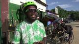 The Ivorian activist pushing a cycling revolution