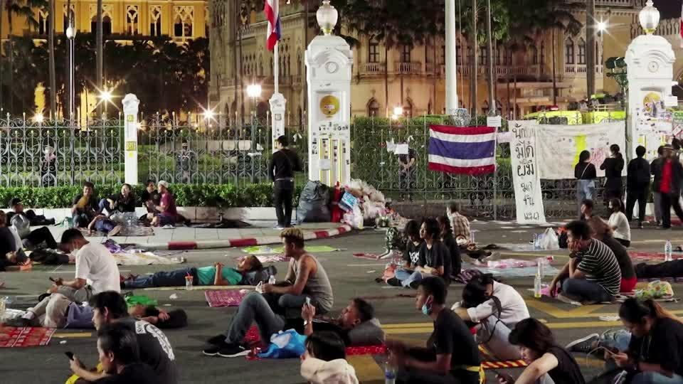 """Thailand bans protests, news that """"could create fear"""""""