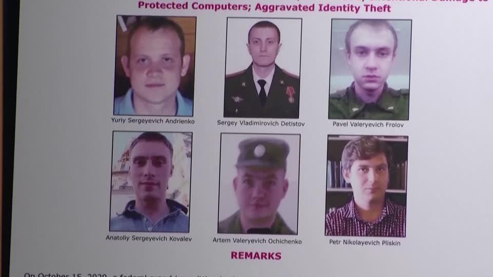 DOJ calls out Russian hacking spree