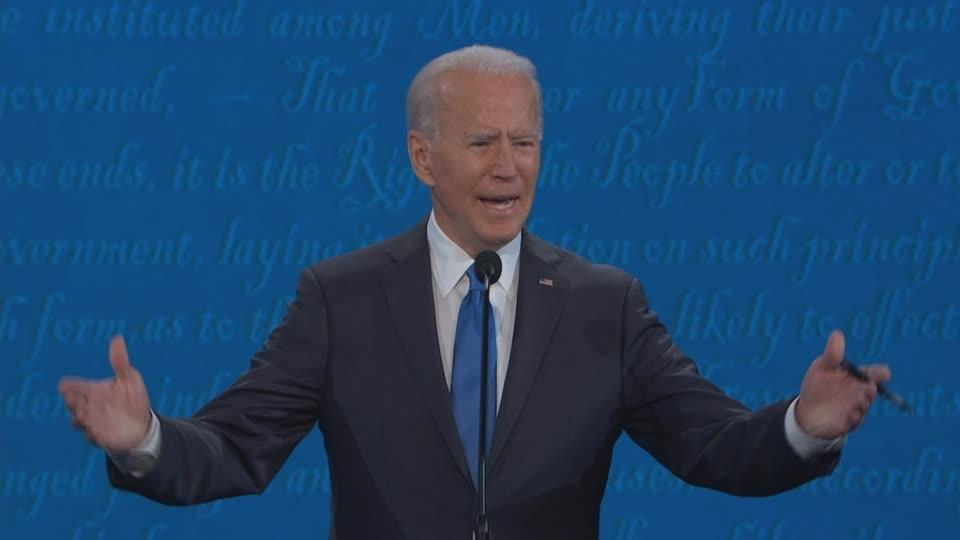 'We're dying with it': Biden spars with Trump on COVID-19