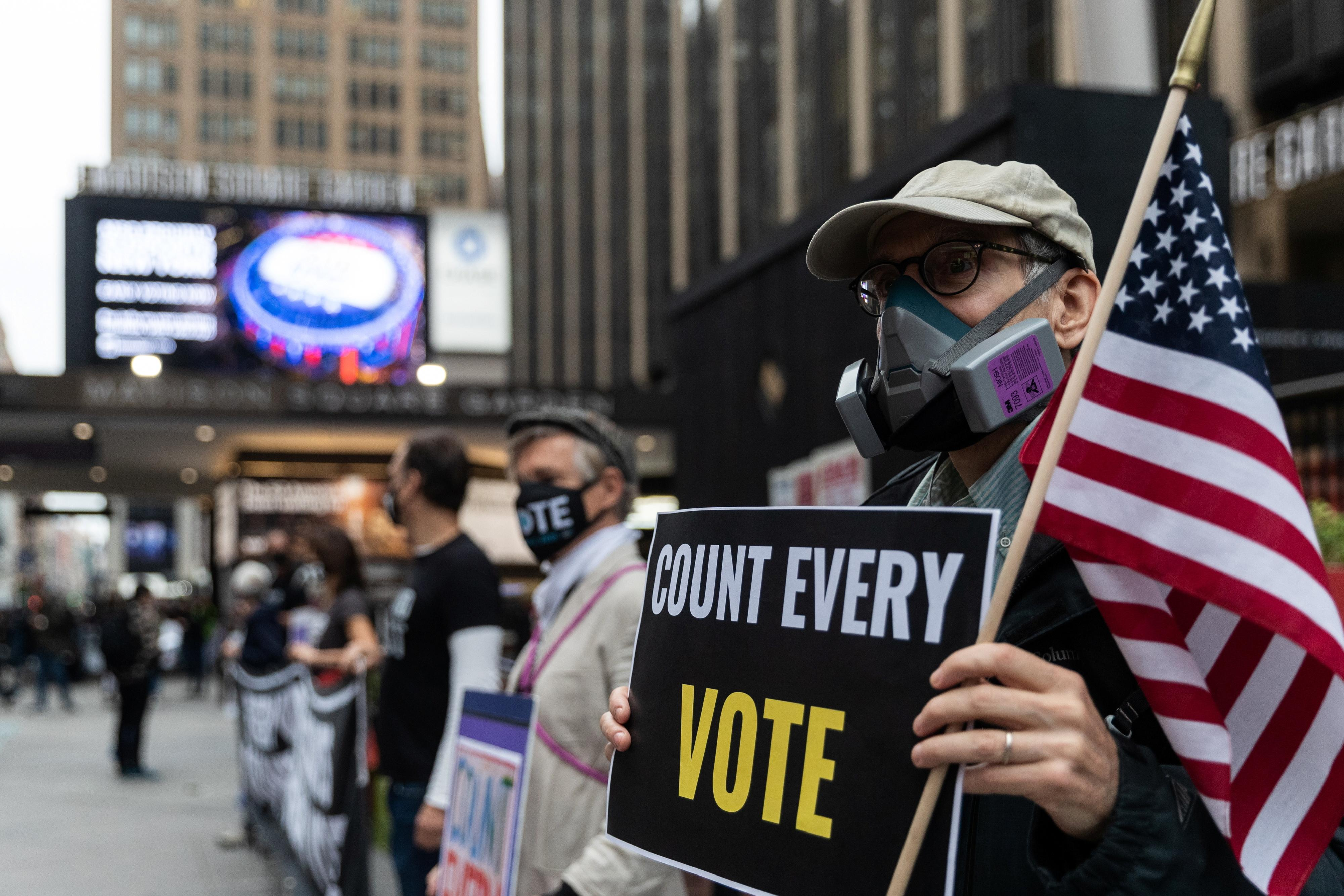 Pandemic turns Americans into voting rights activists