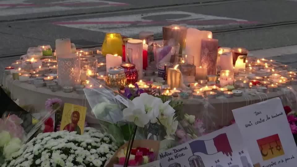 Muslims protest as Nice mourns church attack dead