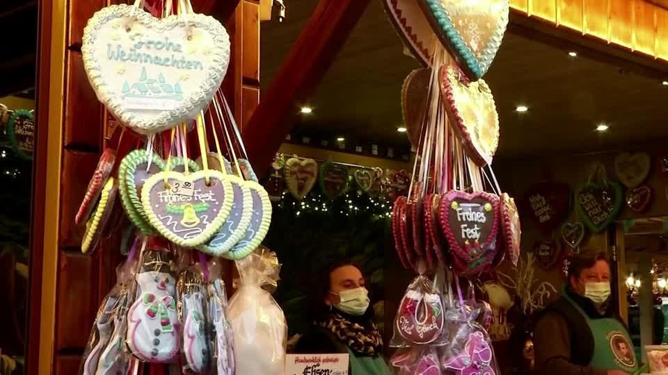 Drive-thru Christmas market opens