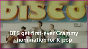 BTS snags K-pop's first ever Grammy nomination