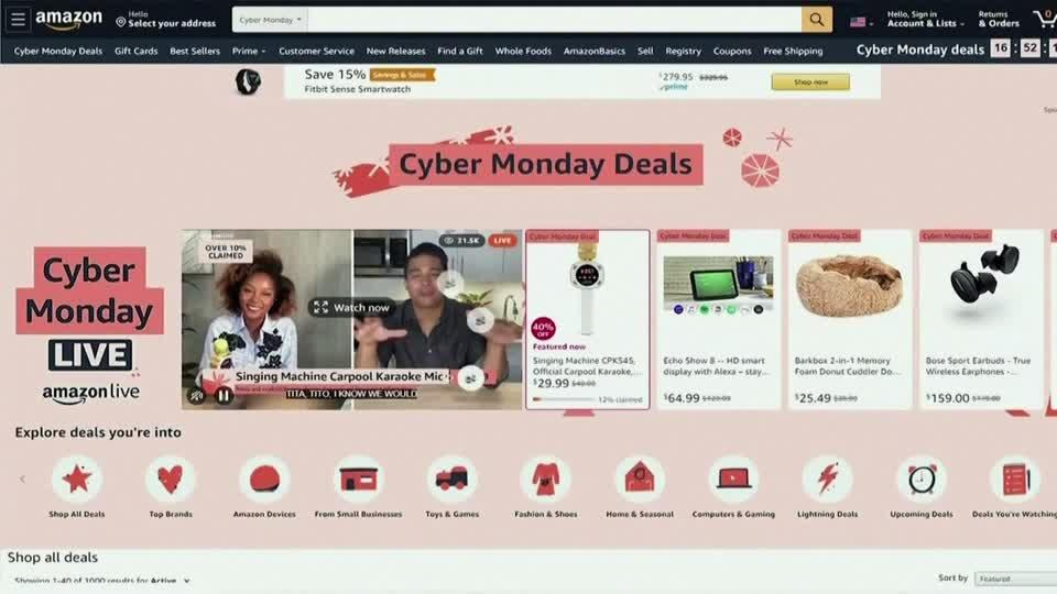 Cyber Monday to be biggest in U.S. history