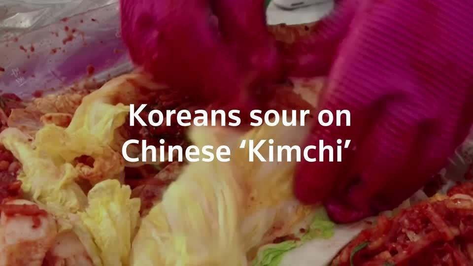 The Kimchi feud between South Korea and China