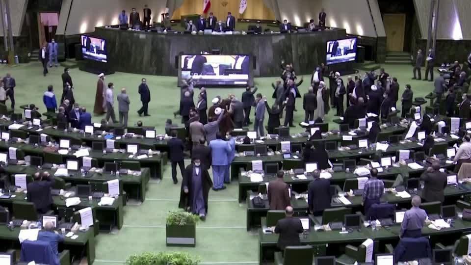Iran lawmakers seek hardened nuclear stance