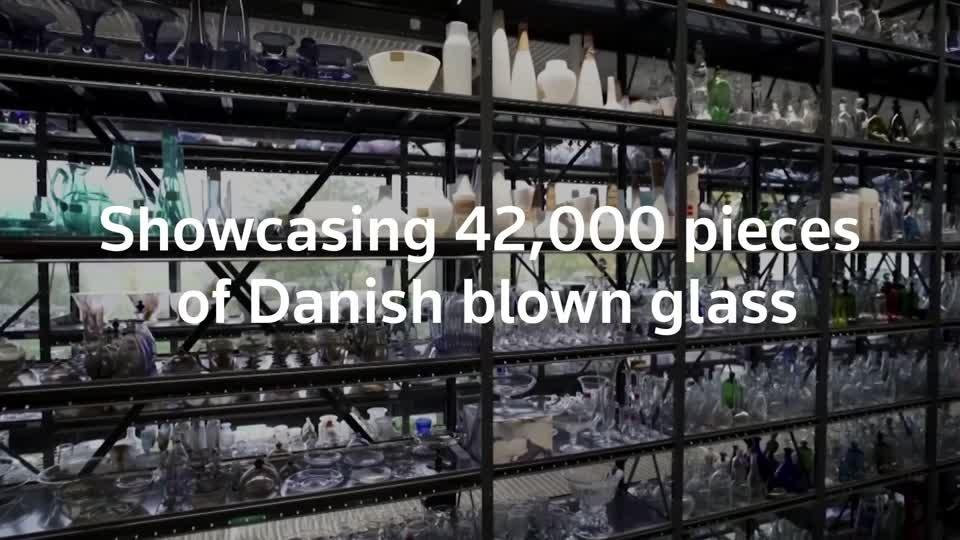 42,000 pieces of Danish glass go on show