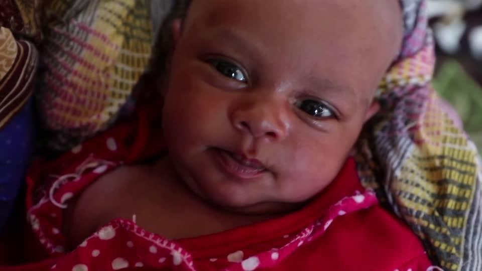 A baby born amid Ethiopia's violence