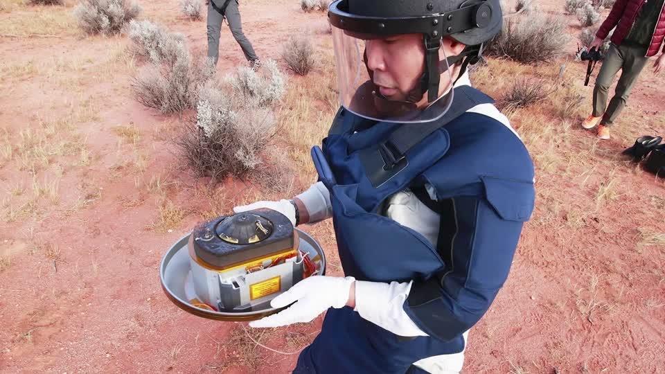 'Origin of the planets' capsule lands in Australia