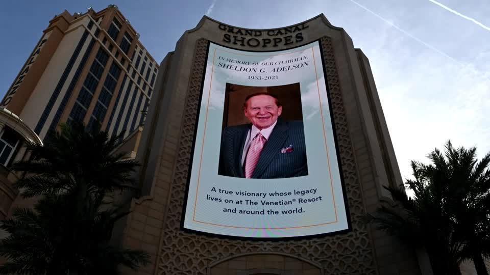 Casino mogul Adelson buried in Jerusalem