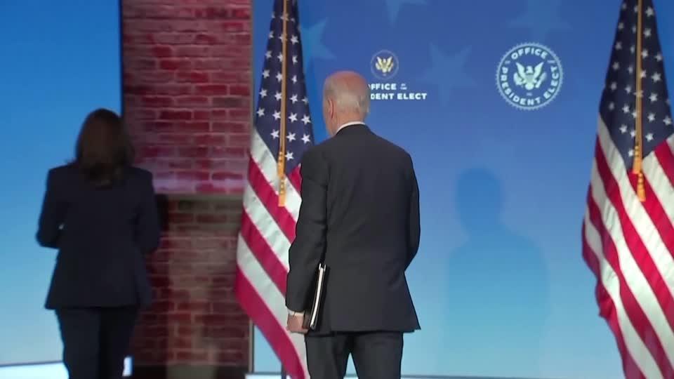 Biden says he feels safe ahead of inauguration