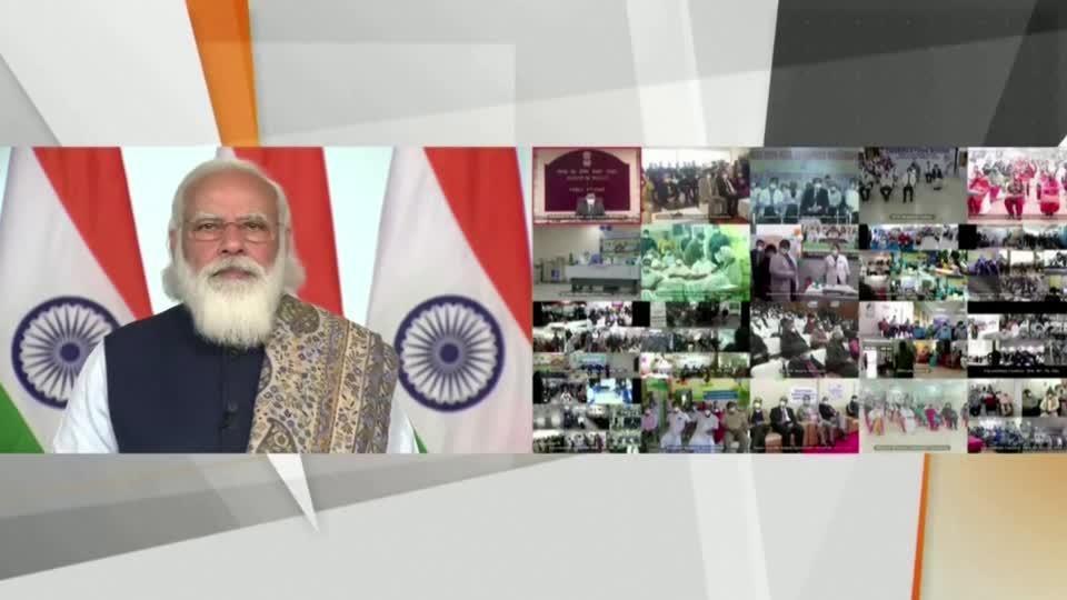 India launches COVID-19 vaccination campaign
