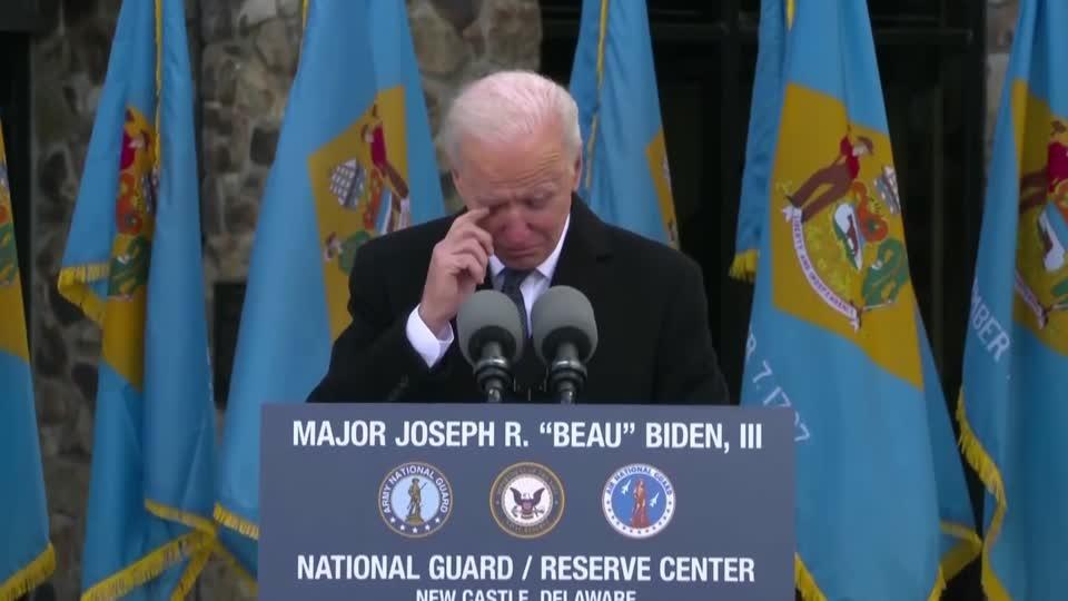 'When I die, Delaware will be written on my heart' -Biden