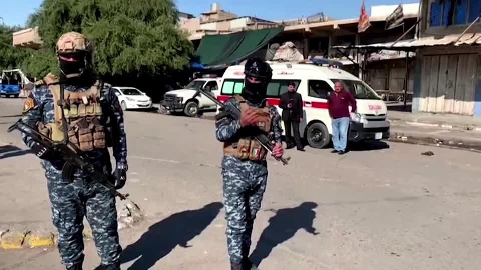 Twin suicide bombing strikes Baghdad