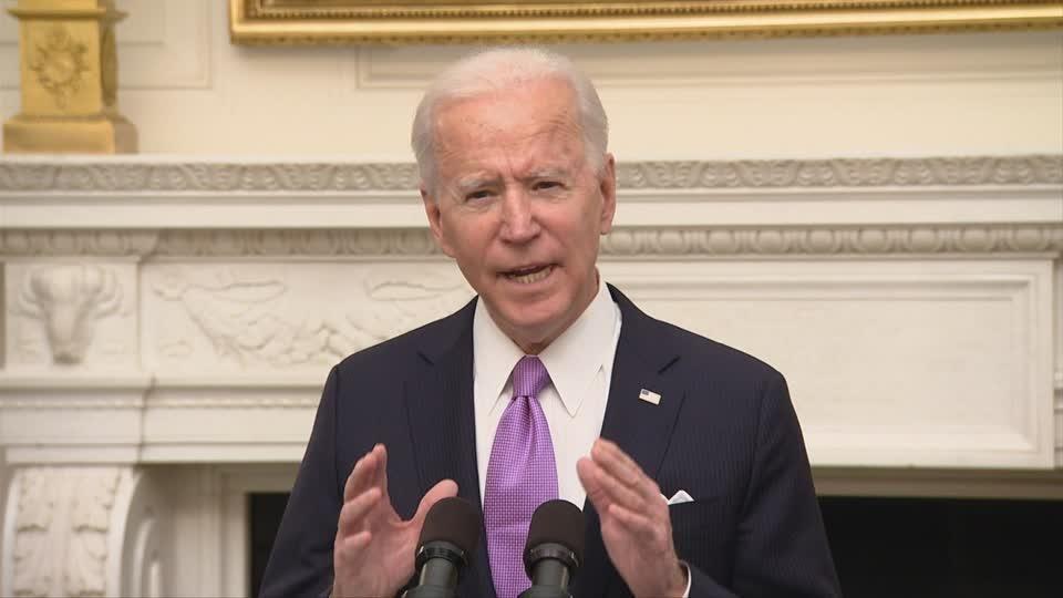 Biden vows to get vaccine 'out the door' ASAP