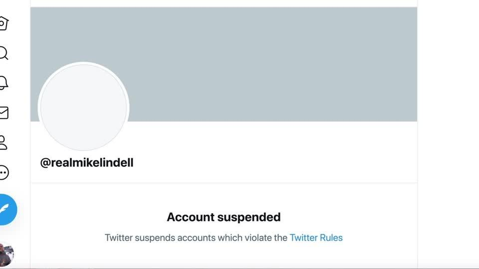 Twitter suspends My Pillow CEO's account