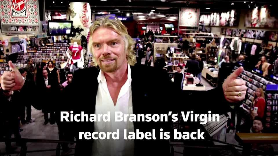 Virgin record label revival to boost indie scene