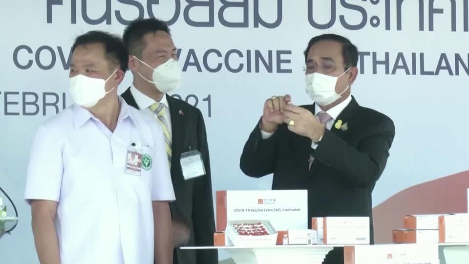 Thailand receives first coronavirus vaccines